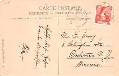ber007163 - Bear Post Card Old Vintage Antique  back