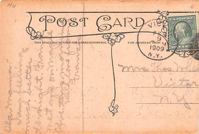 ber007185 - Bear Post Card Old Vintage Antique  back