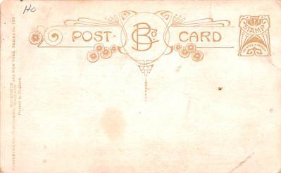 ber007195 - Bear Post Card Old Vintage Antique  back