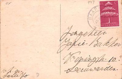 ber007283 - Bear Post Card Old Vintage Antique  back