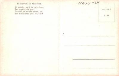 ber007291 - Bear Post Card Old Vintage Antique  back