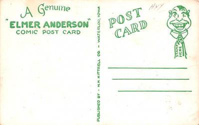 ber007311 - Bear Post Card Old Vintage Antique  back