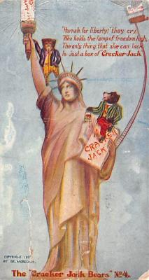 ber007321 - Bear Post Card Old Vintage Antique