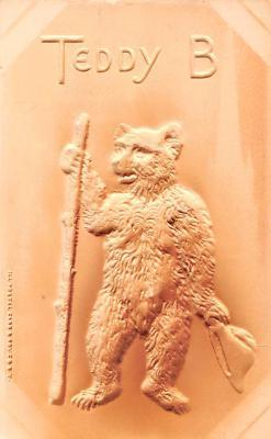 ber007331 - Bear Post Card Old Vintage Antique