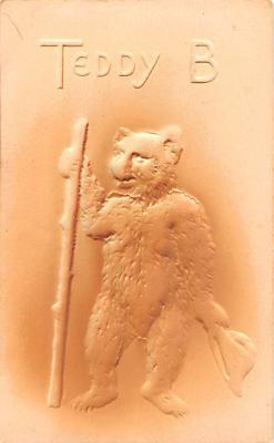 ber007333 - Bear Post Card Old Vintage Antique