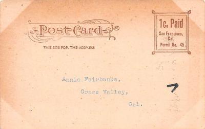 ber007395 - Bear Post Card Old Vintage Antique  back