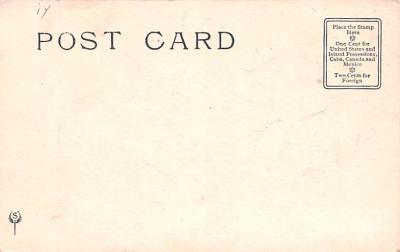 ber007467 - Bear Post Card Old Vintage Antique  back
