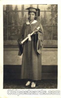 bla000006 - Arthella Parker 1938 Black, Blacks, Real Photo Postcard Post Card