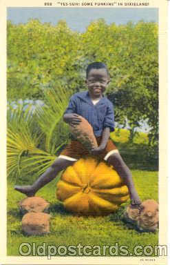 bla001010 - Black Blacks Postcard Post Card