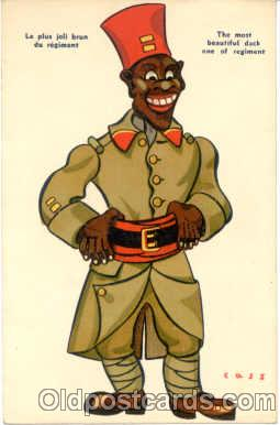bla001055 - Black Blacks Postcard Post Card