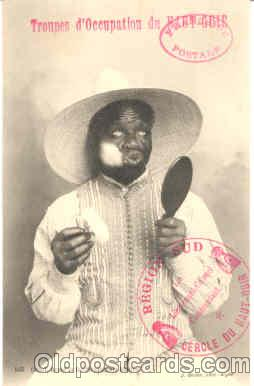 bla001104 - Black Blacks Postcard Post Card