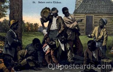 bla001157 - Black Blacks Postcard Post Card
