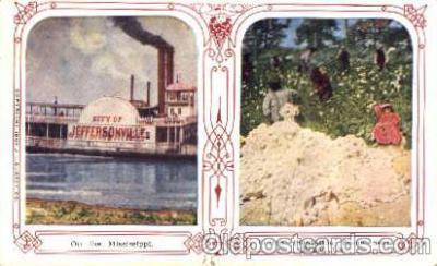 bla001171 - Mississippi / Roma Ga USA Black Blacks Postcard Post Card