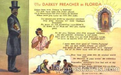 bla001178 - Florida USA, Black Blacks Postcard Post Card