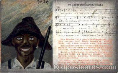 bla001204 - Rud. Sch. Black Blacks Postcard Post Card