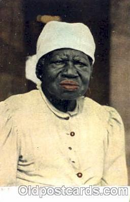 bla001242 - Old Mammie Black Blacks Postcard Post Card