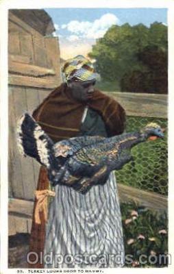 bla001264 - Black Blacks Postcard Post Card