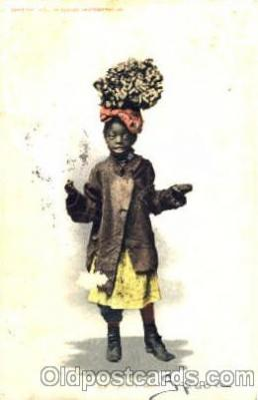 bla001270 - Just as Easy Black Blacks Postcard Post Card