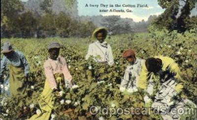 bla001351 - Atlanta, Ga., USA Black, Blacks Postcard Post Card