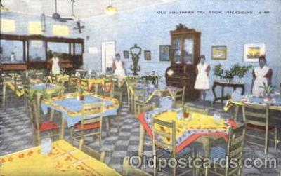 Tea Room, Vicksburg, Miss, USA