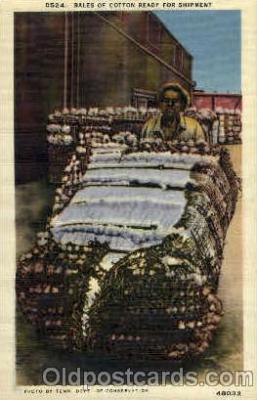 bla001489 - Bales of cotton Black, Blacks Post Card Post Card