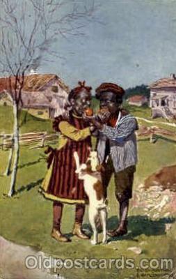 bla001496 - Black, Blacks Post Card Post Card