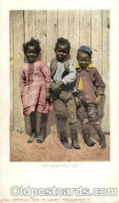 bla001506 - Two Jacks and A. Jill Black, Blacks Post Card Post Card