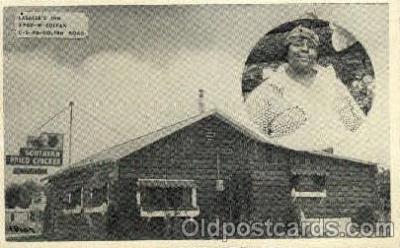bla001532 - Southern Fried Chicken Black, Blacks Post Card Post Card