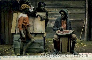 bla001571 - Raphael tuck and sons Series 1098 - Dixie Land Black, Blacks Post Card Post Card