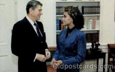 bla001627 - Vanessa William and Reagan Black, Blacks Postcard Post Card