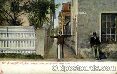bla001640 - St.Augustinem Fla Black, Blacks Postcard Post Card