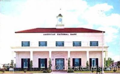 bnk001004 - American National Bank, North Miami, Florida USA Postcard Post Card