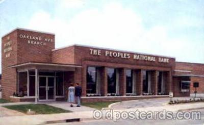 bnk001005 - The Peoples National Bank of Rock hill, South Carolina, USA Postcard Post Card