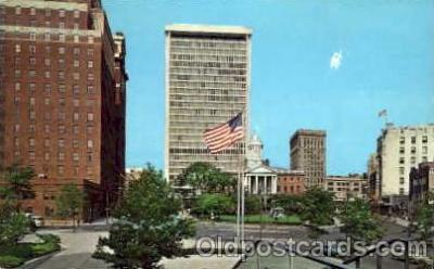 bnk001009 - The New Hartford National Bank Building, Hartford Connecticut, USA Postcard Post Card