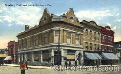 bnk001013 - Sunbury National Bank, Sunbury, PA USA Postcard Post Card