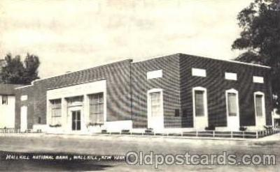 bnk001017 - Wallkill National Bank, Wallkill, New York, USA Postcard Post Card