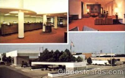 bnk001021 - First National Bank, Clinton, Oklahoma, USA Postcard Post Card