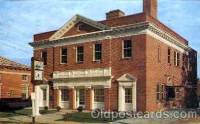 bnk001025 - Laurens Federal Building, Laurens, South Carolina, USA Postcard Post Card