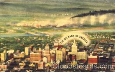 bnk001031 - National Bank of Tulsa, Oklahoma, USA, The Oil Bank of Ameirca Postcard Post Card