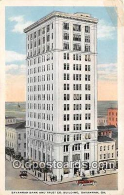 Savannah Bank & Trust Co Building