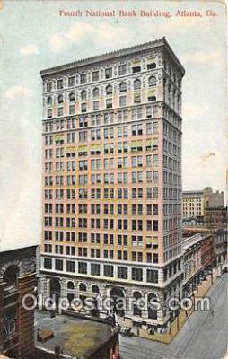 bnk001069 - Fourth National Bank Building Atlanta, GA, USA Postcard Post Card
