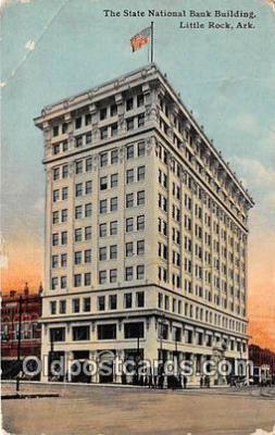 bnk001074 - State National Bank Building Little Rock, Arkansas, USA Postcard Post Card