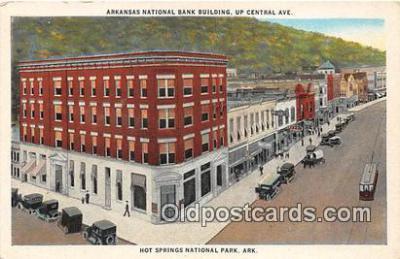 bnk001081 - Arkansas National Bank Building Hot Springs National Park, Arkansas, USA Postcard Post Card