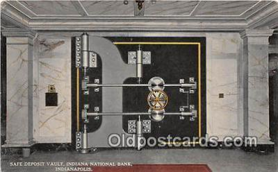 Safe Deposit Vault, Indiana National Bank