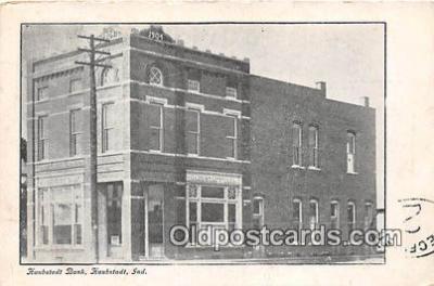 bnk001103 - Haubstadt Bank Haubstadt, Indiana, USA Postcard Post Card