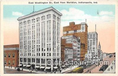 bnk001104 - National Bank Indianapolis, Indiana, USA Postcard Post Card
