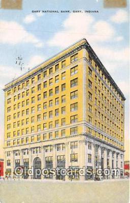 bnk001113 - Gary National Bank Gary, Indiana, USA Postcard Post Card