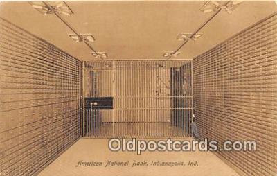 bnk001116 - American National Bank Indianapolis, Indiana, USA Postcard Post Card