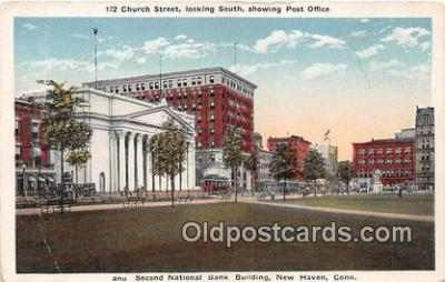 bnk001123 - Second National Bank Building New Haven, Connecticut, USA Postcard Post Card