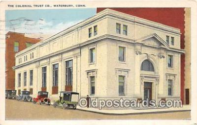 bnk001125 - Colonial Trust Co Waterbury, Connecticut, USA Postcard Post Card
